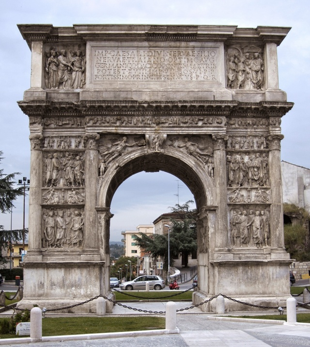 Arch of Trajan. Benevento.